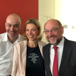 Martin Gerdau Svenja Stadler Martin Schulz